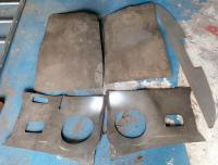 VW T1 1967 door and kick panels