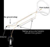 Horn wiring 66 Beetle