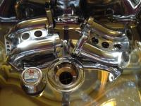 polished intake manifolds