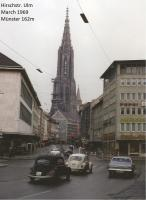 Hirschstraße Ulm March 1969