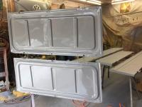 fuel compartment separation panels