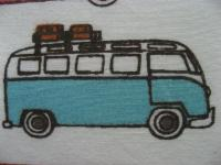 hand made VW bus pillow