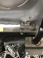 Bad welding in city of orange.
