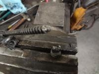 window regulator screw and nut