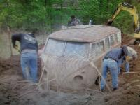 unearthing a storm shelter
