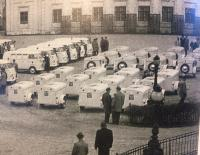 VW T1 ambulances