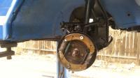 Front brake spring