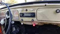 Metal Dash with Early Knobs