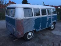 1967 VW Bus - Pictures before partial restoration