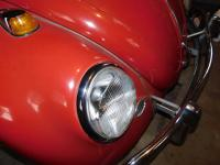 Porsche headlight on a '66 Beetle
