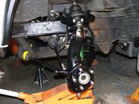 syncro front suspension rebuild