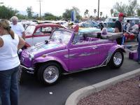 Purple Convertible Baja