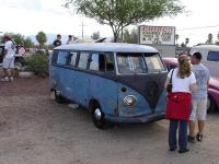 Bus for sale at the show
