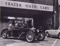 911T Targa Frazer Nash Cars British Vintage Photo