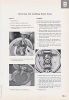 Mechanical brakes workshop manual page.