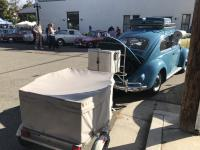 With trailer