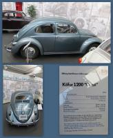 1955 Bug at the Stiftung AutoMuseum Volkswagen in Wolfsburg, Germany