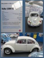 1966 Bug at the Stiftung AutoMuseum Volkswagen in Wolfsburg, Germany