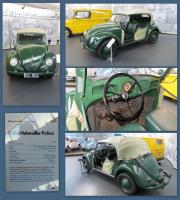 1949 Police Bug at the Stiftung AutoMuseum Volkswagen in Wolfsburg, Germany
