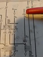 1986 radiator fan wiring