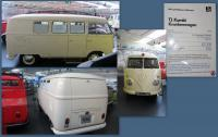 1956 Split-Window Bus Ambulance at the Stiftung AutoMuseum Volkswagen in Wolfsburg, Germany