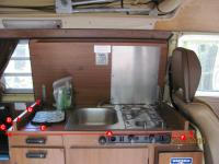 Westfalia stove unit deluxe bay type 2