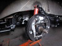 63 brakes on splitcase transaxle