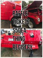 Coca-Cola Thing custom trailer-Raffle @ Things West 2018 - June 10th