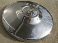 Chrome Brazilian hubcap