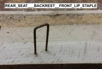 Karman Ghia Rear Seat Backrest Anatomy