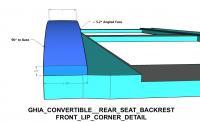 Karman Ghia Rear Seat Backrest Anatomy