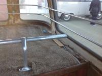 Barndoor Deluxe Luggage Rail Positioning