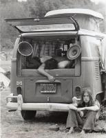 Woodstock Westy SO-42 Westfalia Pop Top Camper Happy Jack Hippie Era Bell Bottoms Jim McGlone Croton New York NY Camping Vintage Photo