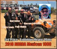 Team #1356 - 3rd Place Evolution Meyers Manx - 2018 NORRA