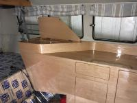 Soft camper interior overhaul