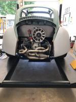 Rear fenders test fit