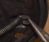 E-brake cable clip - '71 bus