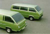 Design proposals for the VW T3