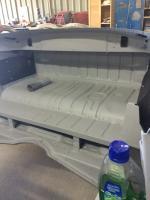 Karmann Ghia Parcel Shelf before/after