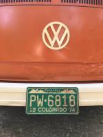 Colorful Colorado Vintage License Plate