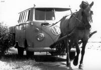 VW T1 paard