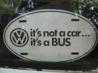 It's not a car, it's a Bus