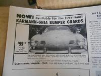 Ghia Bumper Guards