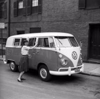 1964 Walkthrough WT Standard 6 Popouts Push Button Slash Bumpers Vintage Photo