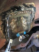 Rrear body mount repair