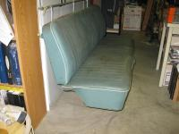 1966 or 1967 Middle and rear bench seat