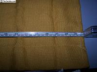 NOS 231 070 401 Mustard / Yellow Curtains