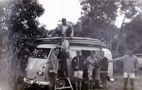RHD Kombi Surfing Safari Rocky Point Australia 1960s Longboards