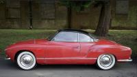 pelican red lowlight karmann ghia