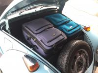 Front trunk luggage space